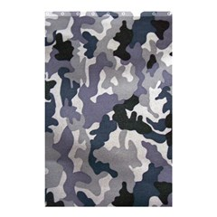 Army Camo Pattern Shower Curtain 48  x 72  (Small)
