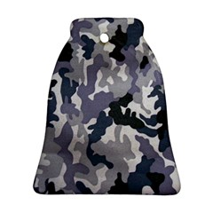 Army Camo Pattern Bell Ornament (Two Sides)