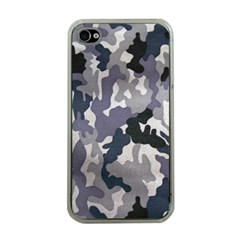 Army Camo Pattern Apple iPhone 4 Case (Clear)