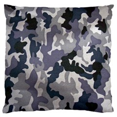 Army Camo Pattern Large Cushion Case (One Side)
