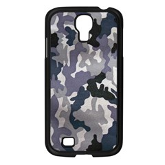 Army Camo Pattern Samsung Galaxy S4 I9500/ I9505 Case (Black)