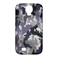 Army Camo Pattern Samsung Galaxy S4 Classic Hardshell Case (PC+Silicone)