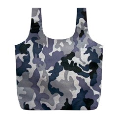 Army Camo Pattern Full Print Recycle Bags (L)