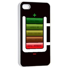 Black Energy Battery Life Apple iPhone 4/4s Seamless Case (White)