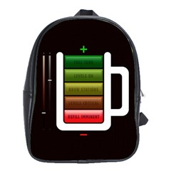 Black Energy Battery Life School Bags (XL)