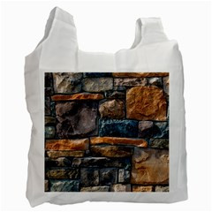 Brick Wall Pattern Recycle Bag (one Side)