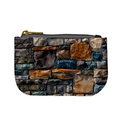 Brick Wall Pattern Mini Coin Purses