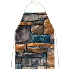 Brick Wall Pattern Full Print Aprons