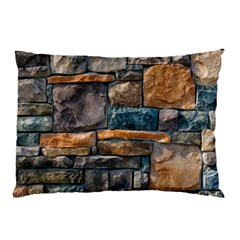Brick Wall Pattern Pillow Case (two Sides)
