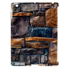 Brick Wall Pattern Apple iPad 3/4 Hardshell Case (Compatible with Smart Cover)