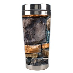 Brick Wall Pattern Stainless Steel Travel Tumblers