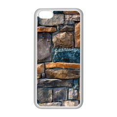 Brick Wall Pattern Apple Iphone 5c Seamless Case (white)