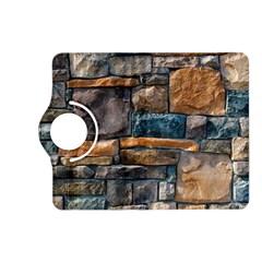 Brick Wall Pattern Kindle Fire HD (2013) Flip 360 Case