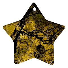 Colorful The Beautiful Of Traditional Art Indonesian Batik Pattern Star Ornament (two Sides)