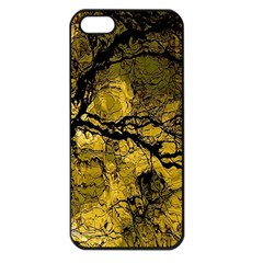 Colorful The Beautiful Of Traditional Art Indonesian Batik Pattern Apple iPhone 5 Seamless Case (Black)