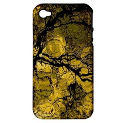 Colorful The Beautiful Of Traditional Art Indonesian Batik Pattern Apple iPhone 4/4S Hardshell Case (PC+Silicone)
