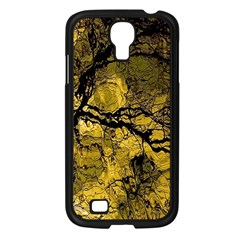 Colorful The Beautiful Of Traditional Art Indonesian Batik Pattern Samsung Galaxy S4 I9500/ I9505 Case (Black)