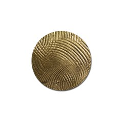 Brushed Gold Golf Ball Marker (4 pack)