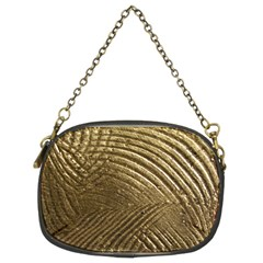Brushed Gold Chain Purses (Two Sides)