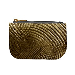 Brushed Gold Mini Coin Purses