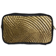 Brushed Gold Toiletries Bags