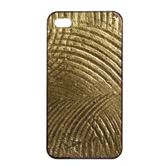 Brushed Gold Apple iPhone 4/4s Seamless Case (Black)
