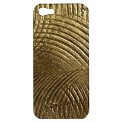 Brushed Gold Apple iPhone 5 Hardshell Case