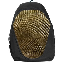 Brushed Gold Backpack Bag