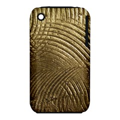 Brushed Gold iPhone 3S/3GS