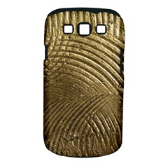 Brushed Gold Samsung Galaxy S III Classic Hardshell Case (PC+Silicone)