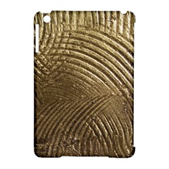 Brushed Gold Apple iPad Mini Hardshell Case (Compatible with Smart Cover)