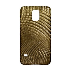 Brushed Gold Samsung Galaxy S5 Hardshell Case