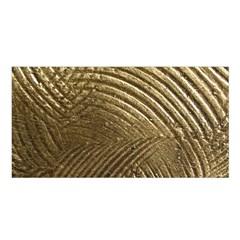 Brushed Gold Satin Shawl