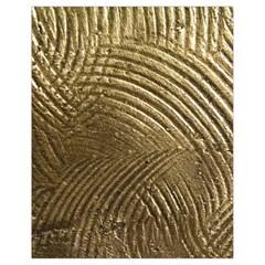 Brushed Gold Drawstring Bag (small)