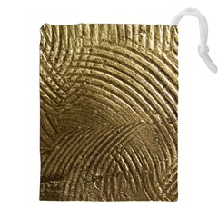Brushed Gold Drawstring Pouches (xxl)