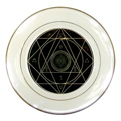Cult Of Occult Death Detal Hardcore Heavy Porcelain Plates