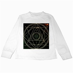 Cult Of Occult Death Detal Hardcore Heavy Kids Long Sleeve T Shirts