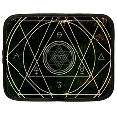 Cult Of Occult Death Detal Hardcore Heavy Netbook Case (xxl)