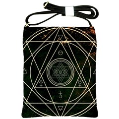 Cult Of Occult Death Detal Hardcore Heavy Shoulder Sling Bags