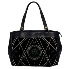 Cult Of Occult Death Detal Hardcore Heavy Office Handbags