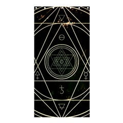 Cult Of Occult Death Detal Hardcore Heavy Shower Curtain 36  x 72  (Stall)
