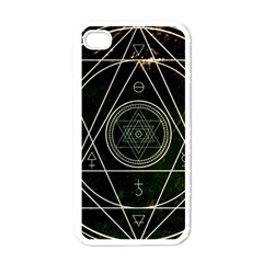 Cult Of Occult Death Detal Hardcore Heavy Apple iPhone 4 Case (White)