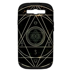 Cult Of Occult Death Detal Hardcore Heavy Samsung Galaxy S III Hardshell Case (PC+Silicone)