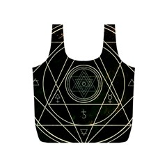 Cult Of Occult Death Detal Hardcore Heavy Full Print Recycle Bags (S)