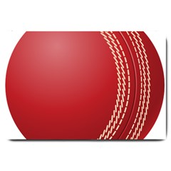 Cricket Ball Large Doormat