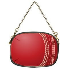 Cricket Ball Chain Purses (one Side)