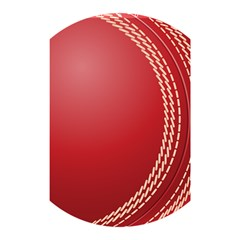 Cricket Ball Shower Curtain 48  X 72  (small)