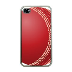 Cricket Ball Apple iPhone 4 Case (Clear)