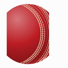 Cricket Ball Small Garden Flag (two Sides)