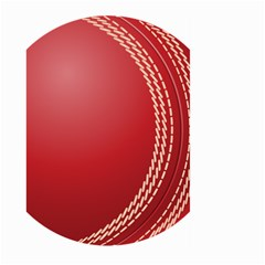 Cricket Ball Large Garden Flag (two Sides)